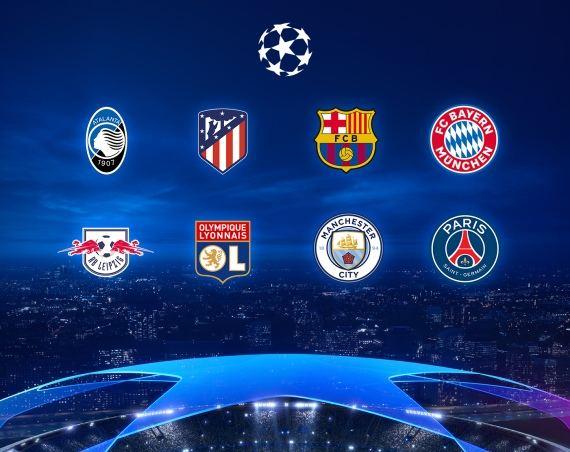 Liga Campionilor în varianta express – Sferturile de finală