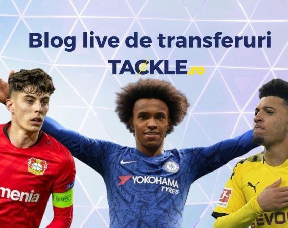 Blog live de transferuri