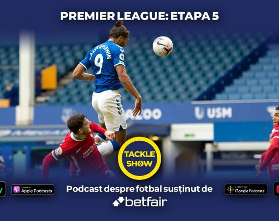 Tackle Show #107: Van Dijk, VAR, goluri în prelungiri și o superligă a Europei?!
