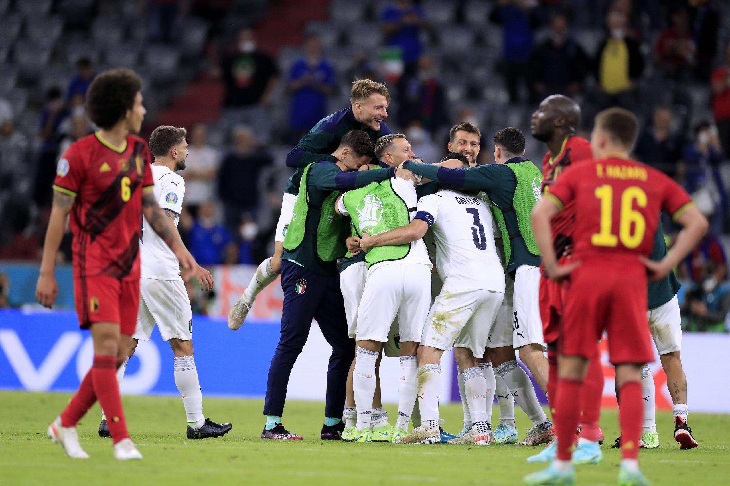 La Squadra. Belgia – Italia 1-2